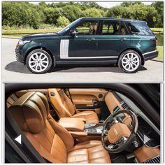 Land Rover Range Rover autobiography British racing green