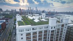 Brooklyn Grange - A Rooftop Garden Grows in Brooklyn