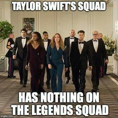 #LegendsofTomorrow