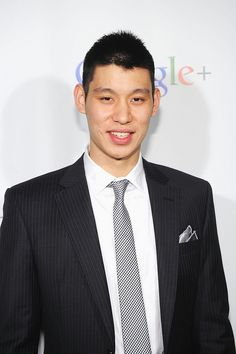 NBA player Jeremy Lin on the Webby Red Carpet, via Flickr.