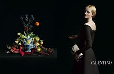 Valentino F/W 2013 campaign, photography by Inez Van Lamsweerde and Vinoodh Matadin