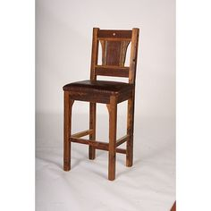 15854 To 15855 Sequoia Bar Stool 24 And 30 Inches With