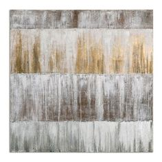 Uttermost - Uttermost Sawyer's Fence Modern Art - Hand painted artwork on canvas that is stretched and attached to wooden stretching bars. Due to the handcrafted nature of this artwork, each piece may have subtle differences.