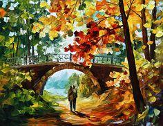 PARK Bridge by Leonid Afremov