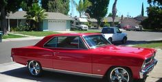 1966 Chevrolet chevy ll. 327, 350, tci front end, rocket wheels, disk brakes all around