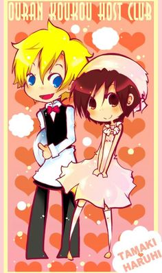 Ouran High School Host Club - Haruhi & Tamaki