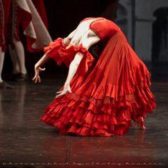 Olga Semenova in Don Quixote. Photo © Nikolay Krusser.