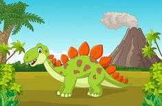 Cartoon dinosaurs with natural landscape vector 09 - https://gooloc.com/cartoon-dinosaurs-with-natural-landscape-vector-09/?utm_source=PN&utm_medium=gooloc77%40gmail.com&utm_campaign=SNAP%2Bfrom%2BGooLoc