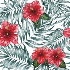 Diseño de flores rojas Vector Gratis