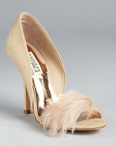 a0410797c951e3 Badgley Mischka Pumps - Gisella Feather Shoes - All Shoes - Bloomingdale s
