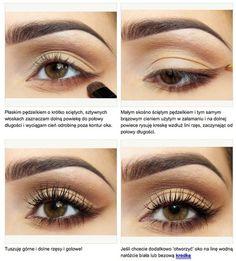 Maquillaje de ojos diario.
