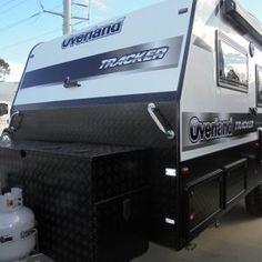 OVERLAND TRACKER 156 SEMI OFF-ROAD CARAVAN Caravans, Water Tank, Gold Coast, Offroad, Range, Female Dwarf, Dunk Tank, Cookers, Off Road