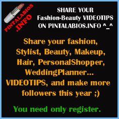 ShareYours #Fashion #Beauty VideoTips onOurSite ^_^ #fbloggers #bbloggers #lbloggers http://www.pintalabios.info/en/
