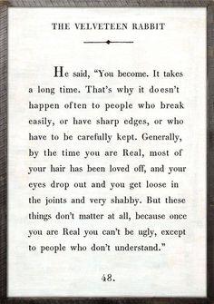 Aging gracefully: The Velveteen Rabbit #Ageism #Seniorhealth #Health @LevineHearing