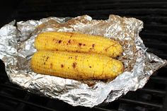 What's Cookin' Italian Style Cuisine: Grilled Chili Lime Wrapped Corn on the Cob