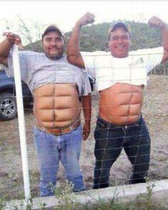 Que abdomen :D