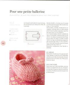 Tutoriel Ballerines bébé au tricot