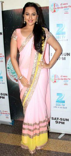 Salman, Sonakshi promote Dabangg 2 on the sets of Sa Re Ga Ma Pa - Rediff.com