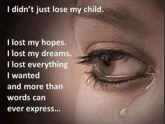 Nothing left but tears- when it finally sinks in she is never coming back/ death of a child-missing her-- severe grief--www.adealwithGodbook.com