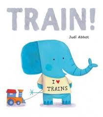 Is your toddler fascinated with transport? Train journeys will be even more fun when you have shared TRAIN by Judi Abott and tried our ideas.