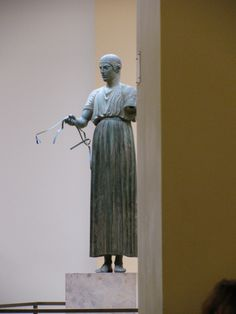 And then He bore me on   Before this mortal noise   With swiftness, as of Chariots   and distance, as of Wheels. __Emily Dickinson [Credit - The Charioteer in the Delphi Museum, Greece]