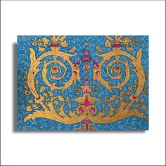 Hand painted illumination with vibrant colors - AETMPM0014