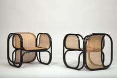 Jan Bocan - Armchairs by Thonet for Czech Embassy in Stockholm 1970's
