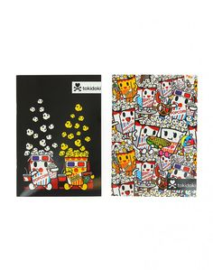 Popcorn Guy Notebook Set