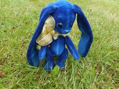 plush bunny Bonnie - LJ |Dekoration Bunny Plush, Garden Sculpture, Outdoor Decor, Decorations, Art
