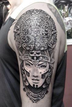 #mayan callendar #tattoo  #umutal