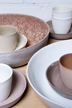 Kirstie van Noort: 6:1 - this project utilizes the waste materials created by the porcelain making process - Thisispaper Magazine