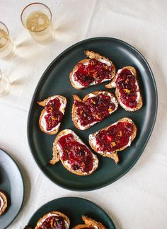 Cranberry crostini! Recipe in collaboration with @Grain Foods Foundation. Get the recipe at cookieandkate.com.