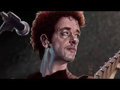Tributo a Gustavo Cerati by Manuel Berrios C. Artista Visual Chileno
