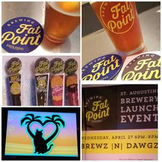 Great time at @brewzndawgz #staugustine tonite for charity pint nite for Feline Canopy of  Care. Featuring launch of @fatpointbrewing from Punta Gorda.  I've had the beer before... you're gonna like it! And pretty cool meeting with the brewery guys! Need to stop there next time in #swfl!  #FLBeer #instabeer #beerpicture #beergirl #beerblogger #certifiedcicerone #craftbeernation #craftbeerlife #staugustinebuzz #904staugustine #igers_staugustine #drinkjax by brewnymph