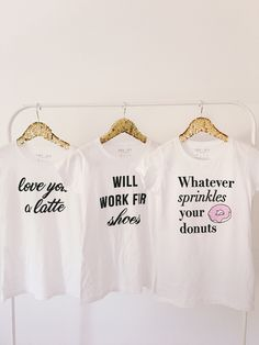 graphic tees, graphic shirts, donuts, shoes, latte, coffee, coffee lovers, donut shirt, shoe obsession, cute shoes, louis vuitton, how to dress your graphic shirts, cute graphic tees, cute shirts