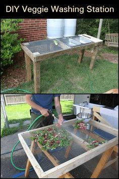 Aquaponics DIY Outdoor - Outlines For Easy Methods In Simple Aquaponics - Bored Munkey Types Of Vegetables, Growing Vegetables, Veggies, Farm Gardens, Outdoor Gardens, Veggie Gardens, Permaculture, Aquaponics Diy, Vegetable Garden Design