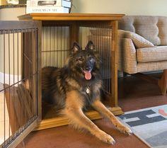 Wooden Furniture Dog Crate
