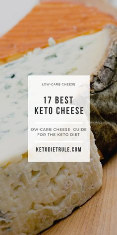 Keto Cheese: 17 Best Low-Carb Cheese for the Keto Diet – Keto Diet Rule Low Carb Recipes, Diet Recipes, Diet Meals, Diet Cake, Keto Cheese, Pescatarian Recipes, Diets For Beginners, Keto Meal Plan, No Carb Diets