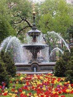 Beautiful water fountain........