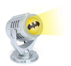 The Mini Batman Bat-Signal Lamp is Adorably Awesome #superhero #decor trendhunter.com