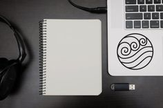 Avatar the Last Airbender Decals  for Macbook or Laptop
