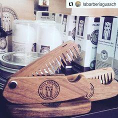 The best Barbershop in Granollers, Barcelona is full stocked with our products. Visit them and pick up your grooming essentials #Repost @labarberiaguasch  ・・・ Todo los productos de @sweynforkbeard  en tu barberia , La Barbería Guasch.#viulexperiencia #woodencomb #folding #giftandcare #cuidamosdeti #barbeshop #onlyman #sweynforkbeard #beardoil #beardbalm #beardcomb #beardshampoo #aftershave #shavingcream #malegrooming #gentleman #vikings