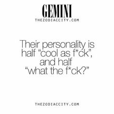 Noticed that with a ton of my Gemini friends