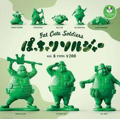【大量官圖 & 發售資訊公開!】熊貓之穴 胖胖小綠兵 | 玩具人Toy People News