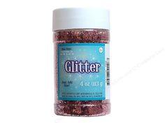 Sulyn Glitter 4oz Jar Pink