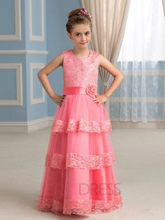 ericdress.com offers high quality  Ericdress Charming A line Flower Girl Party Dress Flower Girl Party Dresses   unit price of $ 72.19.