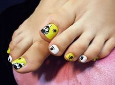 cute toe nail art (4)