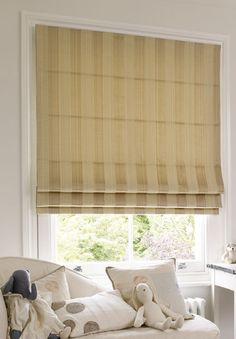 Rock Roman Blind In Linen Quality Made To Measure Blinds