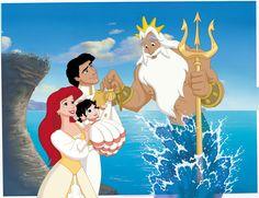 Disney Movies ᴴᴰ - The Little Mermaid 2 Movies For Kids - Animation Movies Melody Little Mermaid, Little Mermaid Movies, Disney Little Mermaids, Disney Girls, Disney Family, Princesa Ariel Disney, Mermaid Disney, Princesas Disney, Disney Amor