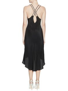 Silk Camisole High-Low Dress from Brands We Love Feat. Emerson Thorpe on Gilt